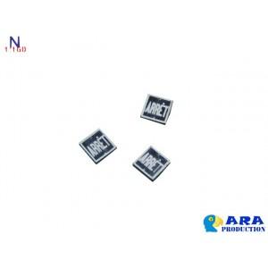 3 plaques ARRET carrées