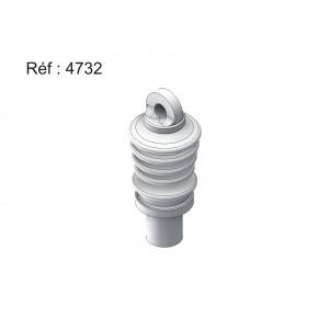 Isolateurs 25 kv avec connexion