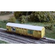 Wagon couvert SNCF Gakkss 11-6 vieilli