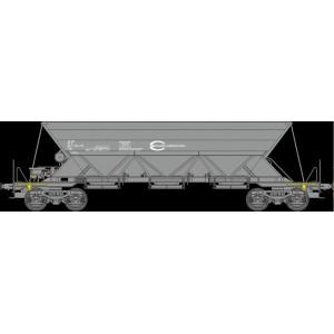 Set of 3 ECR EX hopper wagons