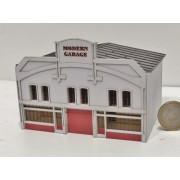 Garage automobile ancien