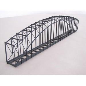 Pont cage métallique voie unique 37 cm