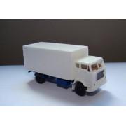 Camion Volvo F88 avec coffre blanc