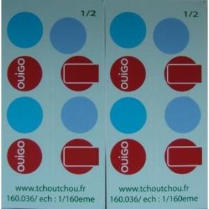 Planches TGV OUIGO SNCF