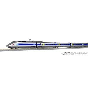 TGV Réseau SNCF sigle Carmillon numérique