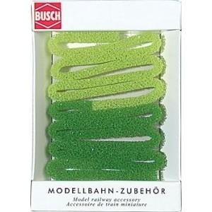 Light green and medium green hedge