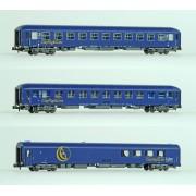 Set de 3 voitures CNL époque V