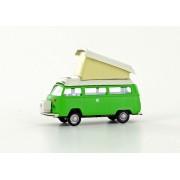 VW T2 Westfalia camping car green