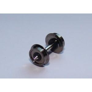Essieu RP25 6,2 x 13,85 boudin 0,6 mm