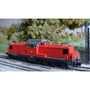 Locomotive SBB Bm 6/6 époque V