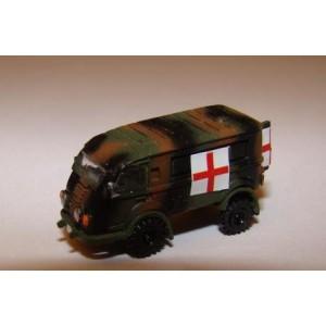 Goelette 4x4 Renault ambulance militaire