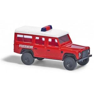 Land Rover Defender pompiers
