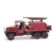 Camion GMC 353 feux de forêt