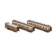 Coffret de 3 voitures CIWL Simplon Express