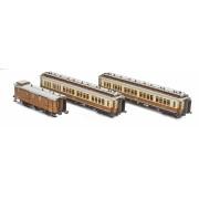 Coffret de 3 voitures CIWL Simplon-Express