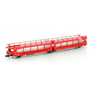 Wagon porte-autos double TA 370 SNCF STVA époque VI