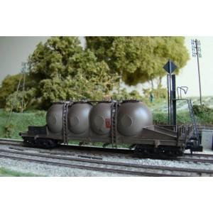 Wagon silo à bogies DB VTG