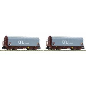 Coffret de 2 wagons Shimms CFL Cargo