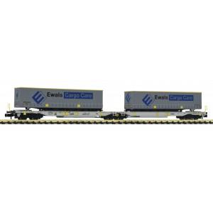 Wagon double AAE + remorques EWALS Cargo Care