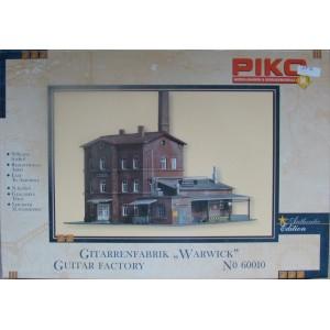 Maquette d'une usine ancienne en briques