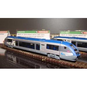 Autorail SNCF X 73816 TER époque VI