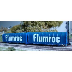 Wagon bâché double Lails SNCF FLUMROC