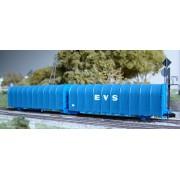 Wagon bâché double Lails SNCF delacher+co