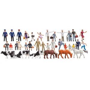 Set économique de 36 figurines