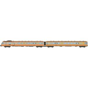 Rame RGP1 XBD-2737 SNCF orange et gris