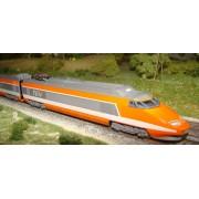 TGV Sud-Est orange 4 éléments