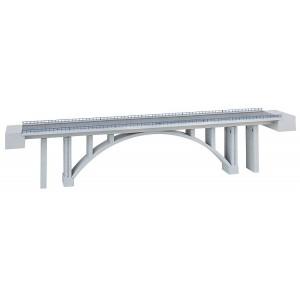 Pont en arc moderne double voies