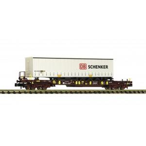 AAE T3pocket wagon + Schenker trailer