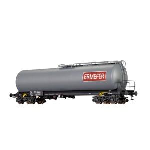 SNCF tank wagon with boggies ERMEFER