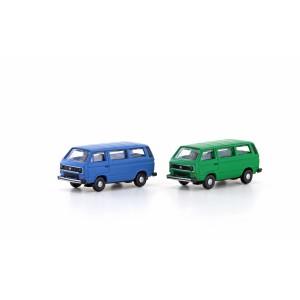 Jeu de 2 minibus VW T3