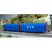Wagon bâché double Lailps SNCF EVS