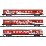 Set de 3 voitures DB S-Bahn Coca-Cola