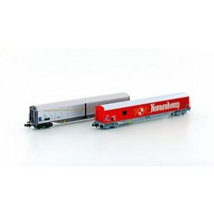 Set 2 wagons Habis SNCF et Kronembourg