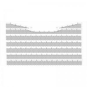 Bordures de quai moellons avec descentes