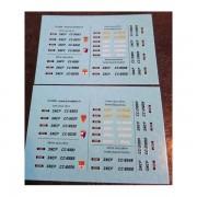 Planche d'immatriculations CC 6500 et CC 21000