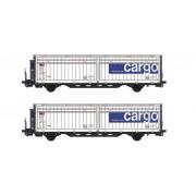Set de 2 wagons Hbbills-uy SBB Cargo