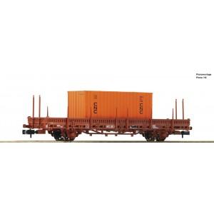 Wagon plat K50 SNCF conteneur CNC