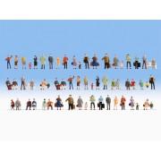 Méga-set économique de 60 figurines debout