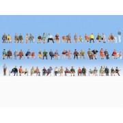Méga-set économique de 60 figurines assises