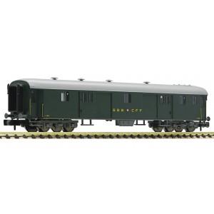 SBB D type luggage coach era III