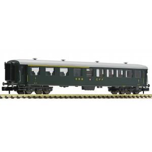 Voiture express SBB 1ère/2ème classe époque III