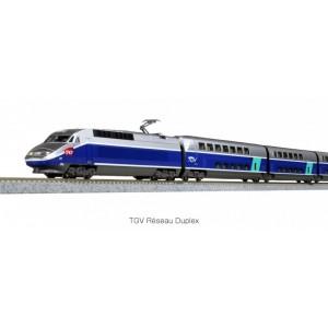 TGV Réseau Duplex SNCF numérique