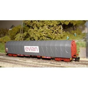 SNCF Rils wagon EVIAN