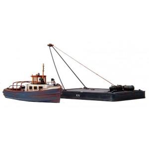 Embarcation et ponton