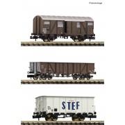 Coffret de 3 wagons SNF époque III