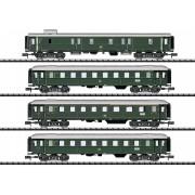 Coffret de 4 voitures express DB époque IIIb